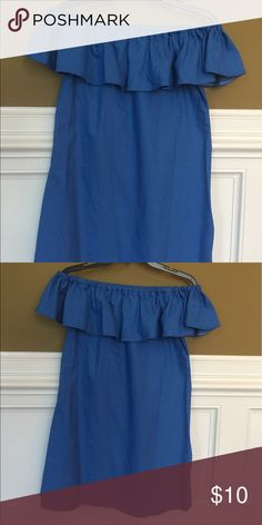 Cute off the shoulder dress! Cute summer dress! Made in China and runs very small.  Tag has XL but it's really a small.  I wear a med and it didn't have any flow room that this dress needs. Dresses One Shoulder