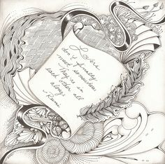 """12""""x 12"""" card stock Micron pen and graphite shading."""