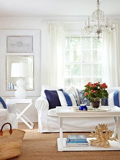 Decorating Style Defined: American Coastal Style | One of the most popular coastal decorating styles is American Coastal Style. Find out what it takes to create this casual and classic look in your home. | TheCasaCollective.com | #americancoastalstyle #coastalstyle #decoratingstyles