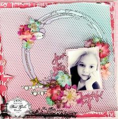 American Crafts - Glitter Girl Collection - Available now at Scrapbook.com #scrapbookcom