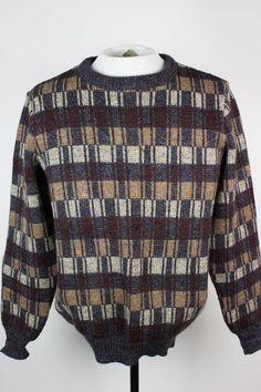 "Carraig Donn Mens Medium? 40"" Chest Irish Thick Wool Crewneck Sweater  #CarraigDonn #Crewneck"