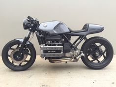 1984 K100 Cafe Racer budget build- BMW K75 K100 K1 K1100