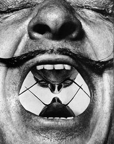 Philippe Halsman USA. 1954. Salvadore DALI. A few minor inner conflicts.