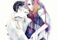 agnes cecile's art is... it leaves me speechless everytime she uploads something new.