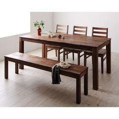 ダイニングセット・5点セット・B・テーブル・幅180cm・ウォールナット・テンプス(Tempus)[送料:6480円][代引不可][品番:TS000040600366]