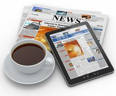 Enjoy your Digital Newspaper Online Each Morning  https://www.3dissue.com/enjoy-your-digital-newspaper-online-each-morning/ #digital #morning #magazine #coffee #online #newspaper #iPad #tablet #marketing #business