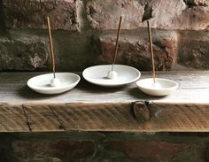 Individually handcrafted in porcelain each incense holder is finished in a clear glaze.Available in three different sizes.Small - 5cm wideMedium- 8cm wideLarge - 11cm wide #affiliatelink Ceramic Incense Holder, Natural Candles, Handmade Home Decor, Handmade Gifts, Simple Colors, Tea Light Holder, Modern Interior Design, Modern Rustic, White Ceramics