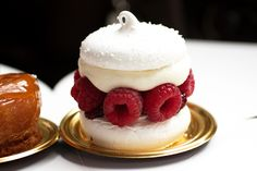 gastronomyfiles:    raspberry pavlova @ dominique ansel (by bionicgrrrl)