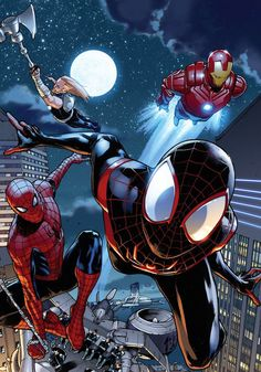 Spider-Men & the Avengers
