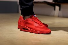 Nike Air Max 90 Hyperfuse Red. From the Independence Day Pack. #sneakers