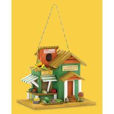 Birdhouse Farmers Market Available at www.DebonairHomeDecor.com