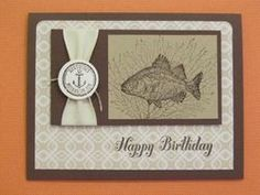 #ByTheTide #StampinUp Designer Paper is from Thankful Tablescapes Simply Created Kit.