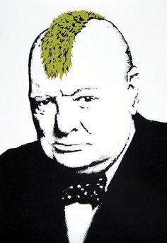 Banksy Churchill