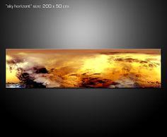 Sky horizont 200x50 cm