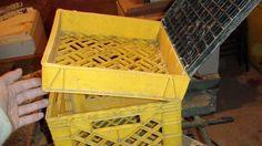 DIY Milk Crate for Kayak fishing