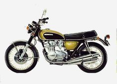 Honda CB 500 Four P