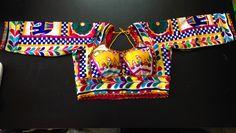 Buy FAB Designer Kutchwork blouse-MULTICOLOR