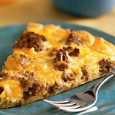 Medifast - Breakfast Pizza  	 Ingredients 1 Medifast Cream Soup, any flavor 1 Medifast Scrambled Eggs 1 cup Morningstar Farms Meal Starters Sausage Style Recipe Crumbles ½ cup moderate-fat shredded cheddar ¼ cup water 2 tablespoons onion, chopped Non-stick cooking spray