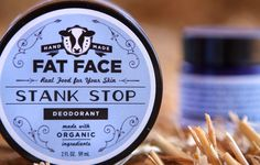 $12.00 ~ Stank Stop Deodorant~ FATFACE Skincare Best Seller! This is an all-natural, chemical  preservative free deodorant. Check out what users had to say on our website!
