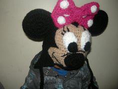 Gorro de lana Minnie Mouse - Gorritos de Lana - DuwenGorritos de Lana –  Duwen b53feb4cfe9f