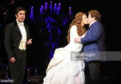 Nadim Naaman, Celinde Schoenmaker and Michael Ball perform onstage at... News Photo | Getty Images