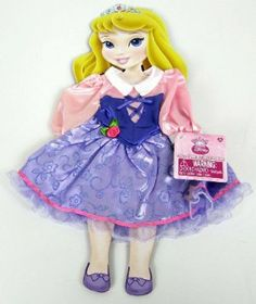 """My First Disney Princess Doll Aurora Once Upon a Time Fashion Outfit Fits 15"""" Doll by Disney. $14.99. Fits """"My FIrst Disney Princess"""" Toddler Dolls and all 14"""" and 15""""dolls. Once Upon A Time Fashion series. Dress up your Disney Princess Toddler Doll with the beautiful dresses from Once Upon A Time Fashion series. Disney Princess Theme outfits for use with """"My First Disney Princess"""" Toddler Dolls or any 14"""" - 15"""" dolls. Choose from Ariel, Aurora, Belle, Cinderella, Snow White and ..."""