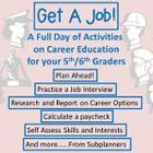 A full day of academic and common core aligned activities on career education for your 5th and 6th graders.  From subplanners.
