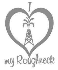 I love my Roughneck Decal. $10.00, via Etsy.