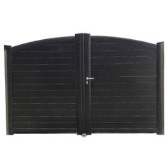 Portail battant Aluminium Rialto  -  Gamme Prestige - Lapeyre