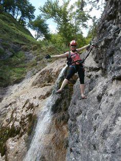 Klettersteig Hausbachfall bei Reit im Winkl @gipfel