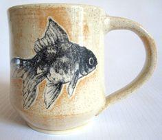 Goldfish - ceramic mug