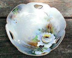 Antique 1911 Japanese Noritake Handled Bowl by LostTreasurebyLynn