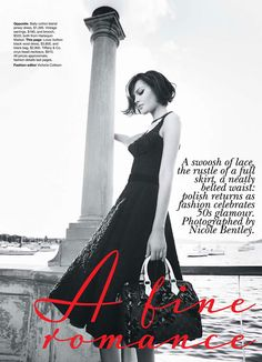 Vogue September 2010: 50's romance editorial @ Le Blog de Sushi leblogdesushi