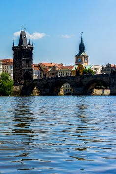 The beautiful Charles Bridge in Prague, Czech Republic. Check out our post on the best things to do in Prague. #prague #europe #czechrepublic