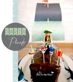 Receta de tarta de cumpleaños para un pirata + {Mika}