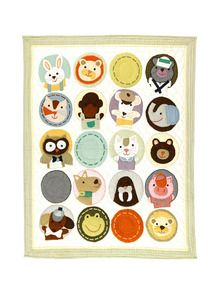 Land of Nod  All Creatures Crib Quilt  http://www.gilt.com/invite/128475739aptwwy79en6