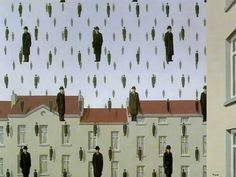 Golconda - René Magritte