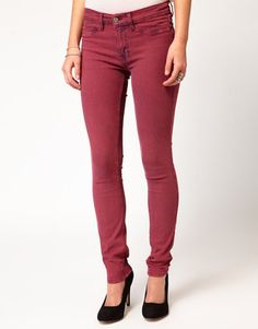 MiH Jeans - Bonn Colored Skinny Jeans #15Things #fashion #style #trending #coloredjeans #MiH