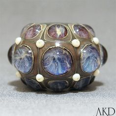 lampwork bead via Etsy- would love to do a sculpture like this on a much larger scale...
