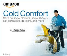 Snow Removal on Amazon Save on Storm Essentials