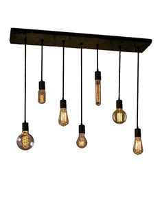 7 Pendant Edison Bulb Industrial Chandelier door HangoutLighting