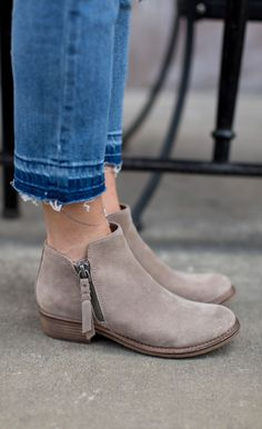 Want. Need. Got to have. The Dolce Vita Sutton Bootie is going to be your shoe go-to