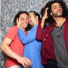 This is my favorite picture ever Also, I am a Capricorn which makes me a- Lin-Manuel Miranda and b-licking Anthony Ramos' face so honestly goals.Yes, I'm lin manuel miranda and my best (only) friend is Anthony Hamilton Musical, Hamilton Broadway, Alexander Hamilton, Hamilton Fanart, John Laurens, Richard Rodgers, Mean Girls, Playlists, Bob Sponge