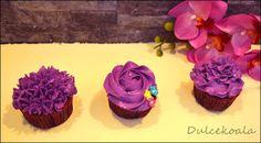 Cupcakes boquilla 1M y 2D