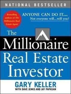 The Millionaire real estate investor- Gary Keller -16 Best Real Estate Investment Books