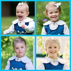 Princess Estelle of Sweden National day.