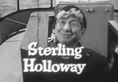 Sterling Price Holloway, Jr. (January 4, 1905 – November 22, 1992) was an American character actor who appeared in 150 films and television shows. He was also a voice actor for The Walt Disney Company, well known for his distinctive tenor voice, and is perhaps best remembered as the original voice of Walt Disney's Winnie the Pooh. Partial Filmography:Bambi (1942) Adult Flower (voice) Iceland (1942) Here We Go Again (1942) Star Spangled Rhythm (1942) The Three Caballeros (1944) (voice)…