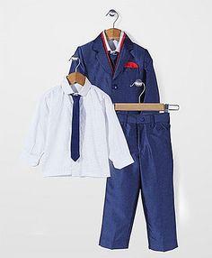 Robo Fry Party Wear 3 Piece Coat Suit - Blue White http://www.firstcry.com/ROBO-FRY/Robo-Fry-Party-Wear-3-Piece-Coat-Suit-Blue-White/689542/product-detail?q=as_robo fr