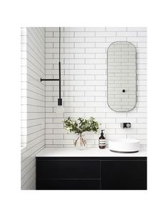 Indoor plants, Transforming your bathroom into an sanctuary is not a new trend, but it's one that is here to stay. Among the very best ways to do that is by introducing plants into your restroom. Bathroom Storage Ladder, Small Bathroom Shelves, Pallet Bathroom, Vessel Sink Bathroom, Widespread Bathroom Faucet, Bathroom Faucets, Country Style Bathrooms, Chic Bathrooms, Black Bathroom Sets