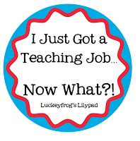 AMAZING first year tips, Luckeyfrog's Lilypad: new teacher tips (hopefully I get a job for next year!)